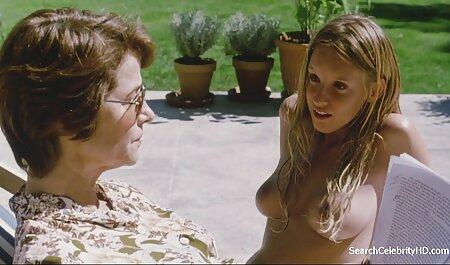 Frau Bound & neue hd pornos Cum mit Zauberstab Light Bondage